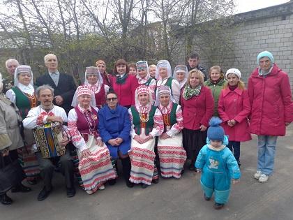 В Бобруйской городской организации ОО «Белорусское общество инвалидов» отметили Пасху и предстоящий День Победы