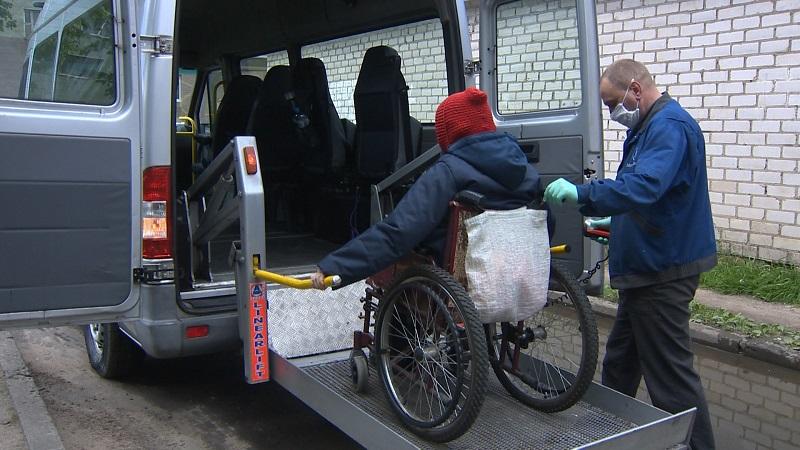 Услугу «Социальное такси» запустили в Могилеве